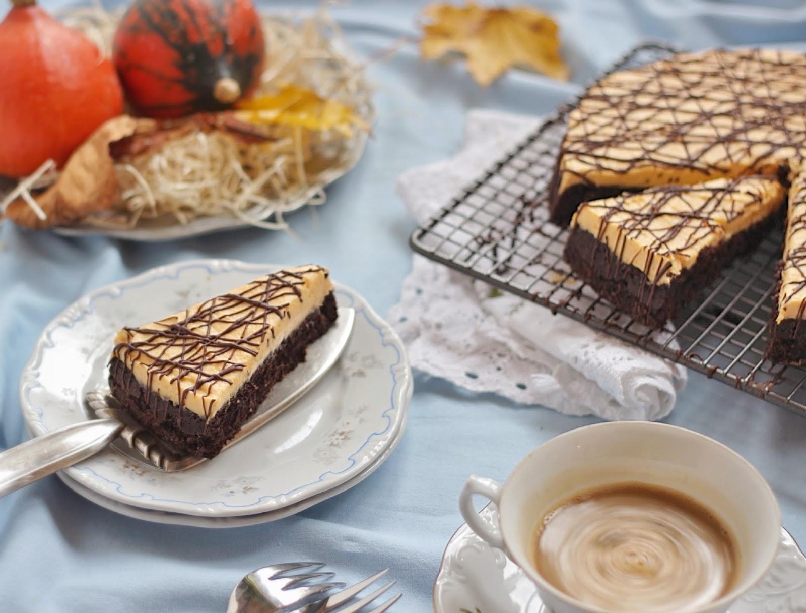 Sütőtökkrémes, majonézes csokitorta