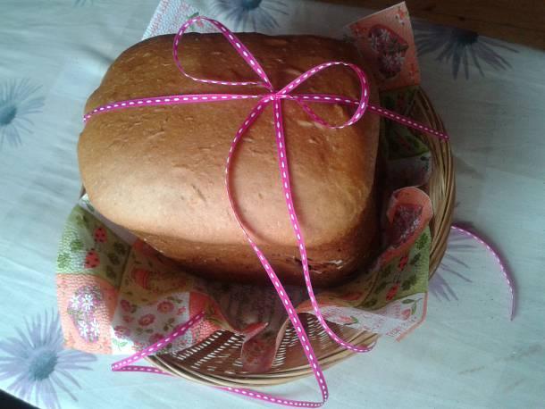 Fahéjas kalács (kenyérsütőgépbe sütve)