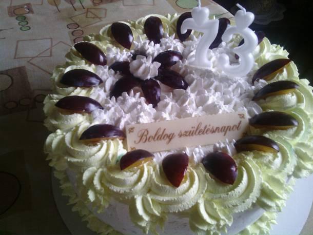 Túrós-szilvás torta