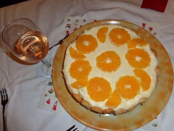 Narancstorta