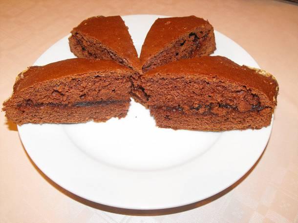 Kakaós-lekváros sütemény