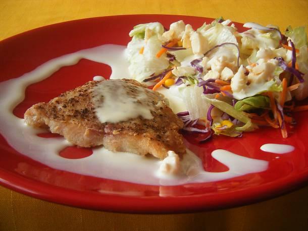 Lazac gourmet salátával
