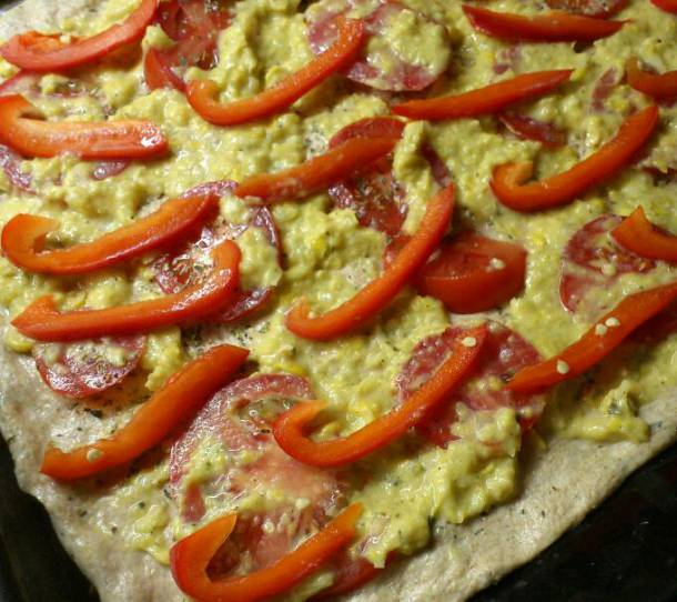Vega pizza