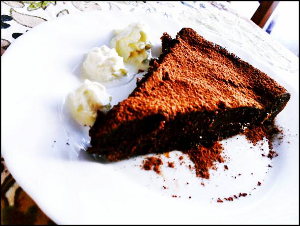 Ördög csokitortája