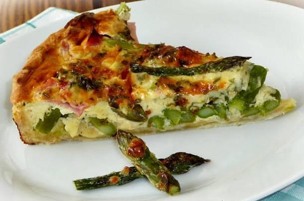 Spárgás-sonkás pite