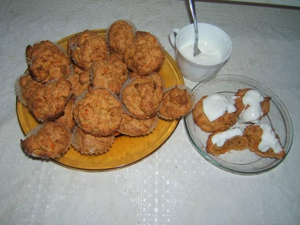 Rusztikus sütőtök muffin
