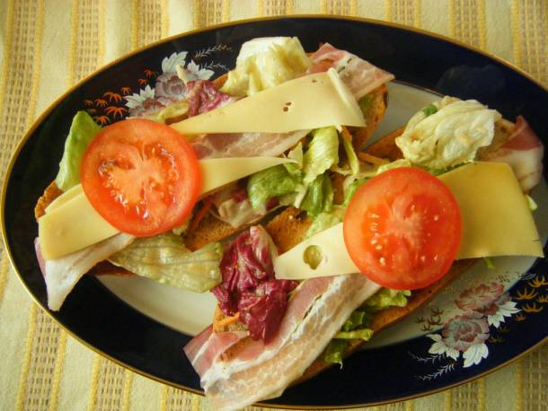 Sörös saláta