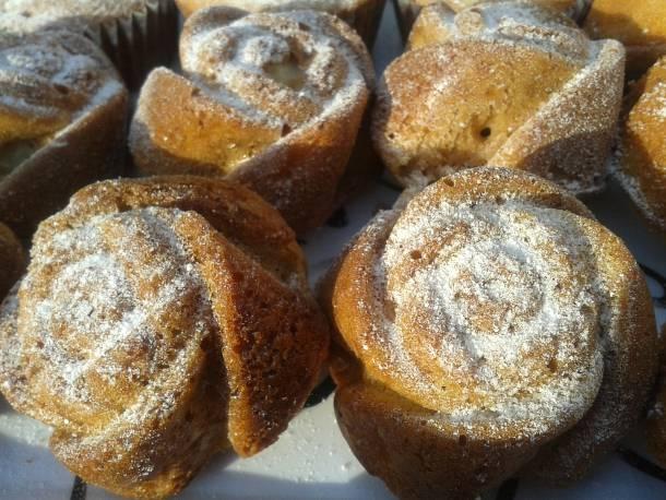 Gyümölcsös-joghurtos muffin