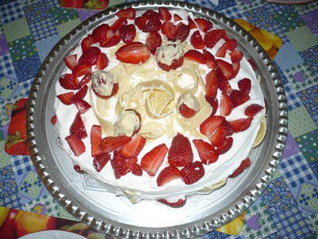 Fehér csokis eper-álom