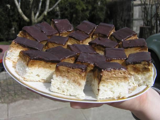 Kókuszos-kávés süti