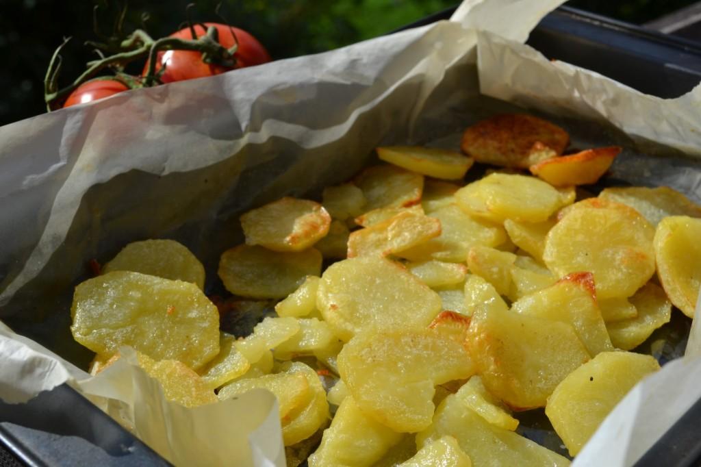 Ropogós krumpli a sütőből