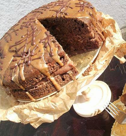 Mogyorólisztes leg-leg torta