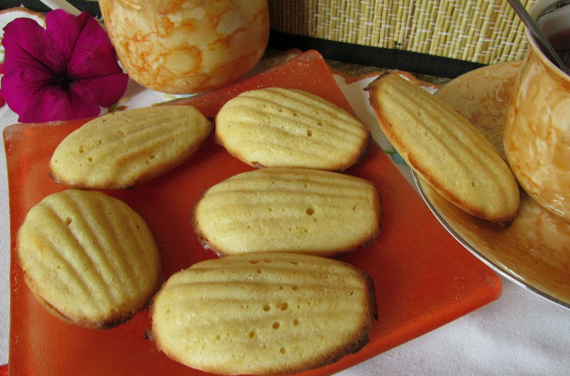 Citromos madeleine