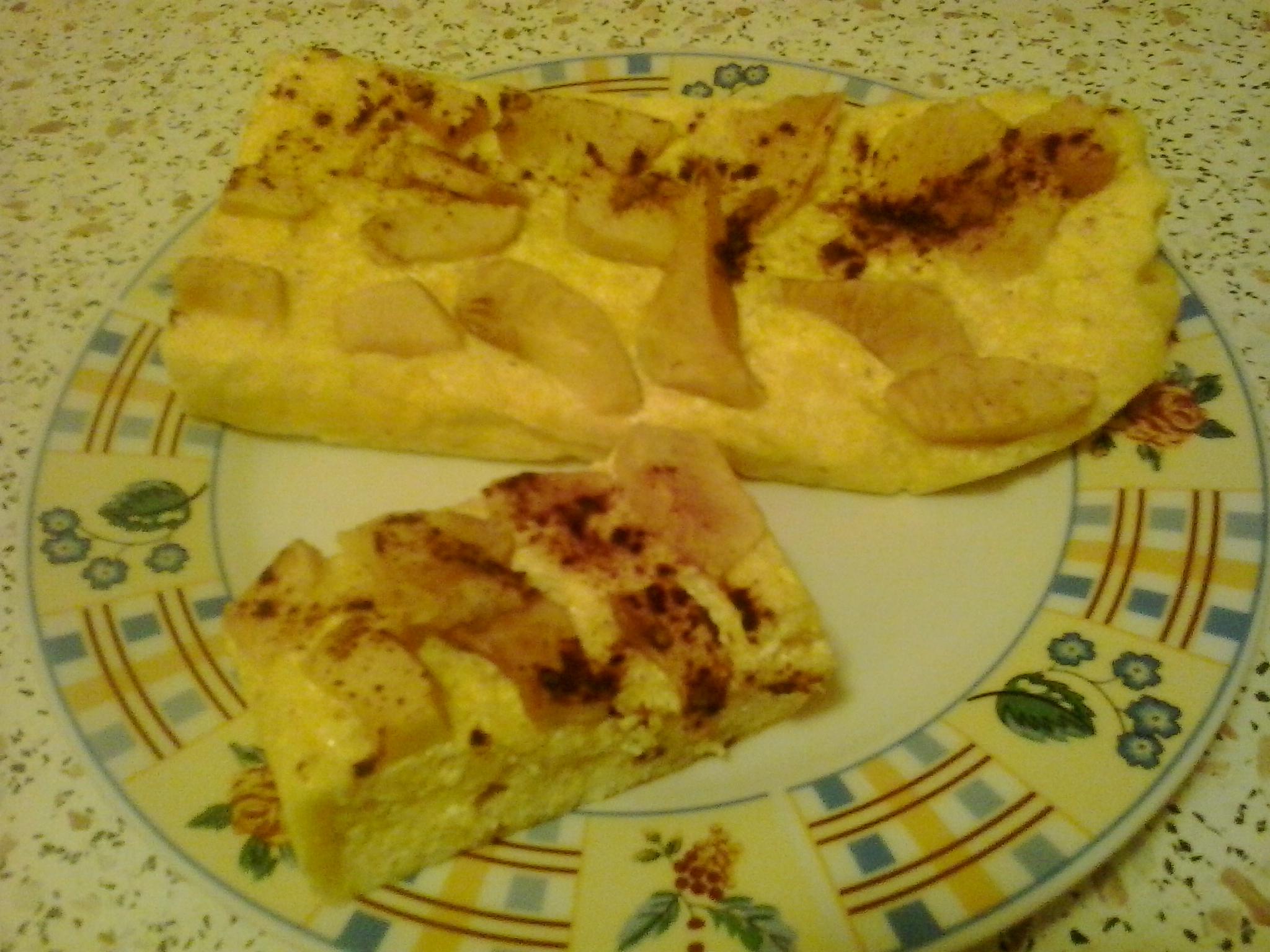 Almás- túrós pite