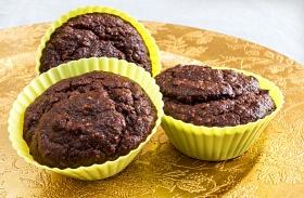 Cukormentes, lisztmentes csokis muffin
