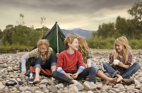Gyerek először megy táborba