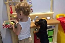 Kutya gyerek