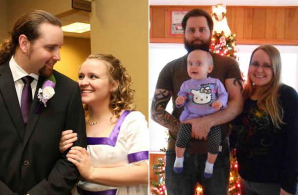 Heather és családja a tragédiát megelőzően