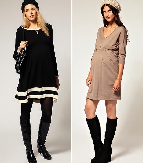 Nőies, de melengető őszi ruhák, ha babát vársz