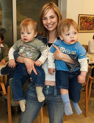 Pintér Adrienn fiaival, Bencével és Bálinttal