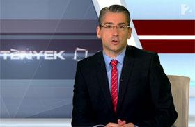Azurák Csaba elaludt a híradóban