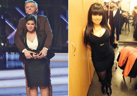 Batánovics Lili Alföldi Róbert mentoráltjaként tűnt fel a 2013-as X-Faktorban. A tehetségkutató élő show-jai alatt az énekesnő majdnem 10 kilótól szabadult meg, bombaformában volt.