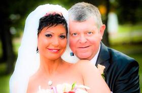 Besenczi Árpád és Nagy Kornélia esküvője
