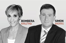 Bombera Krisztina Simon András ATV híradó