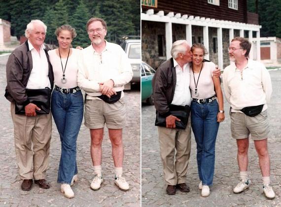 Brunner Márta 1993-ban, Vágó István oldalán, a TV2 Mindent vagy semmit című műsorában vált ismertté. A képen vele és Kányádi Sándor költővel látható.