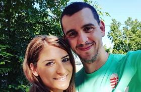 Cseh Laci és felesége, Dia