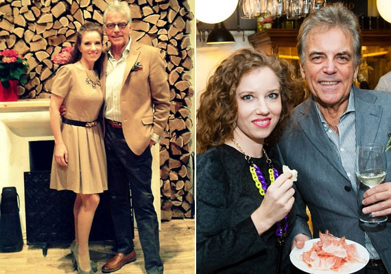 Ernyey Béla 66 évet várt arra, hogy az akkor 28 éves jogásznő, Dóra személyében megtalálja az igazit. A sztárpár azóta összeházasodott, immár nyolc éve vannak együtt.