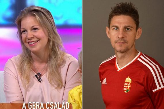 Gera Zoltán 2004-ben vette feleségül Tímeát, aki két gyermekkel ajándékozta meg a futballistát. Gyermekeik, a nyolcéves Hanna és a négyéves Jonatán Angliában születtek, két évvel ezelőtt költöztek velük haza.