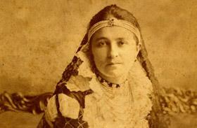 Jászai Mari - híres magyar színésznők képeken
