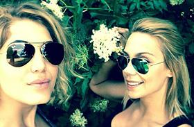 Kiss Ramóna és Nyári Dia bikiniben