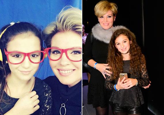Liptai Claudia és lánya, Panka december végén megnézte A Játékkészítőt, novemberben pedig együtt látogattak el a Várkert Bazárban megrendezett Marie Claire Fashion Days-re.