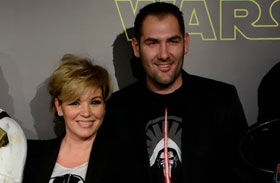 Liptai Claudia Pataki Ádám Star Wars premier