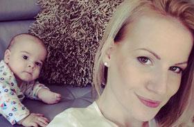 Mádai Vivien szülés után fél évvel