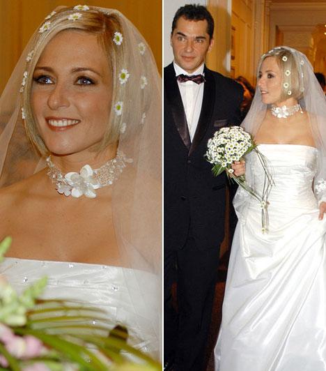 Magyar műsorvezetők esküvői fotói