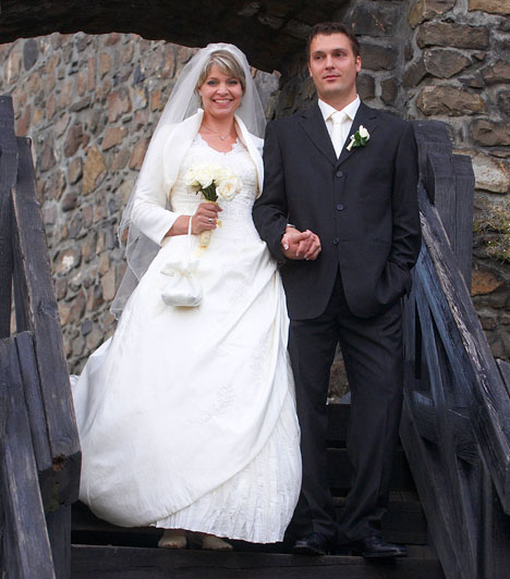 Magyar sztárok esküvői fotói