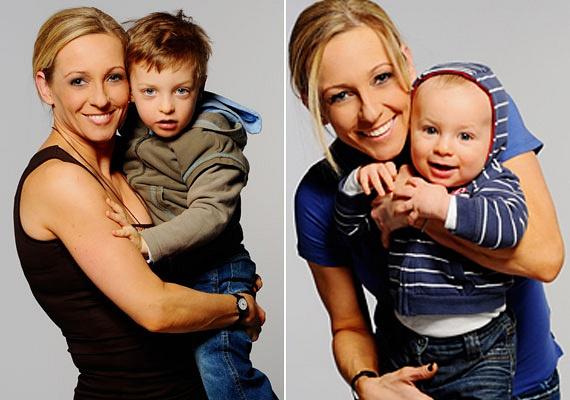 Utoljára talán így láthattuk Marsi Anikó és Palik László gyermekeit. Vilmosra és Vincére ma már rá sem ismernénk, olyannyira megnőttek.