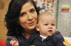 Műsorvezetőnők kisbabájukkal