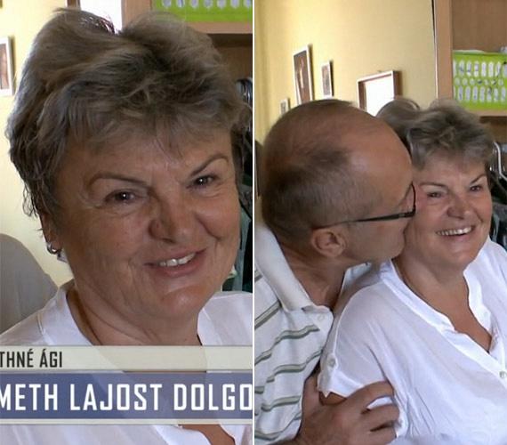 A TV2 nyugdíjba vonult meteorológusa, a 66 éves Németh Lajos már 47 éve él boldogságban feleségével, Ágival.