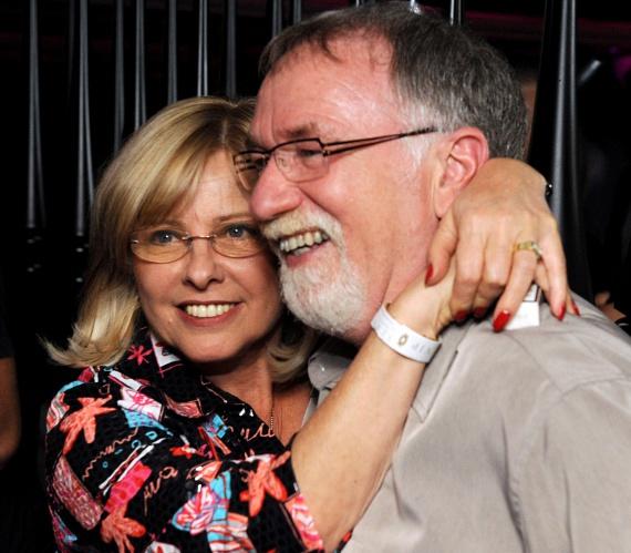 A 67 éves Vágó István csinos, szőke feleségét is ritkán látni, pedig már 37 éve házasok, 1979-ben keltek egybe.