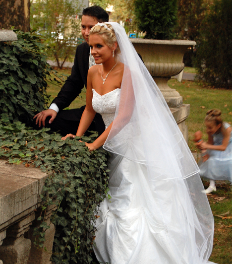 Peller Anna és Lukács Miklós álomesküvője