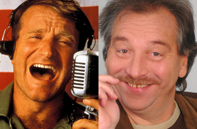 Robin Williams és Bajor Imre meghalt