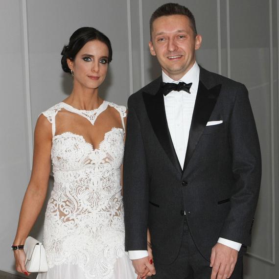 Rogán Cecília idén februárban a Story-gálán is megjelent politikus férjével.