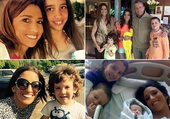 A sztárpár három gyermeket nevel együtt: Schobert Lara 2003-ban, a kis Norbert 2005-ben, Zalán pedig 2011-ben született.