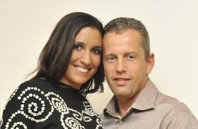 Rubint Réka Schobert Norbi házassági évforduló