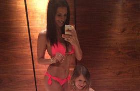 Sarka Kata kislánya bikini
