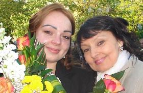 Szíj Melinda lánya